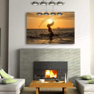 Newport Beach Classic Sunset fine art print