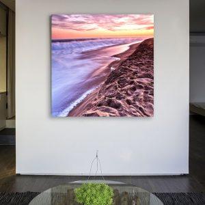 Classic Wedge Sunset in Newport Beach