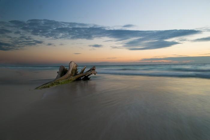 tulum sunrise photo